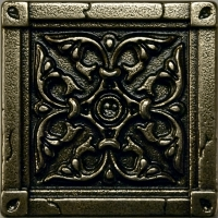 Mosazná dekorace Classic Byzantium, 7,5x7,5 cm