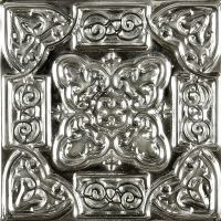 Niklová dekorace Nickel Persia, 5x5 cm