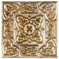 Niklová dekorace Zircon Persia, 5x5 cm