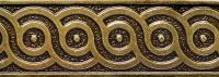 Bronzová dekorace Planet border Universal, 5x15 cm