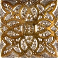 Niklová dekorace Zircon Zodiac, 5x5 cm