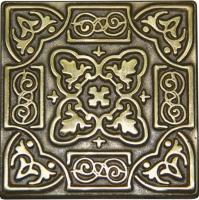 Bronzová dekorace Classic Persia, 5x5 cm
