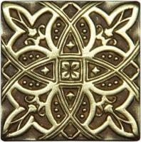 Bronzová dekorace Classic Zodiac, 5x5 cm