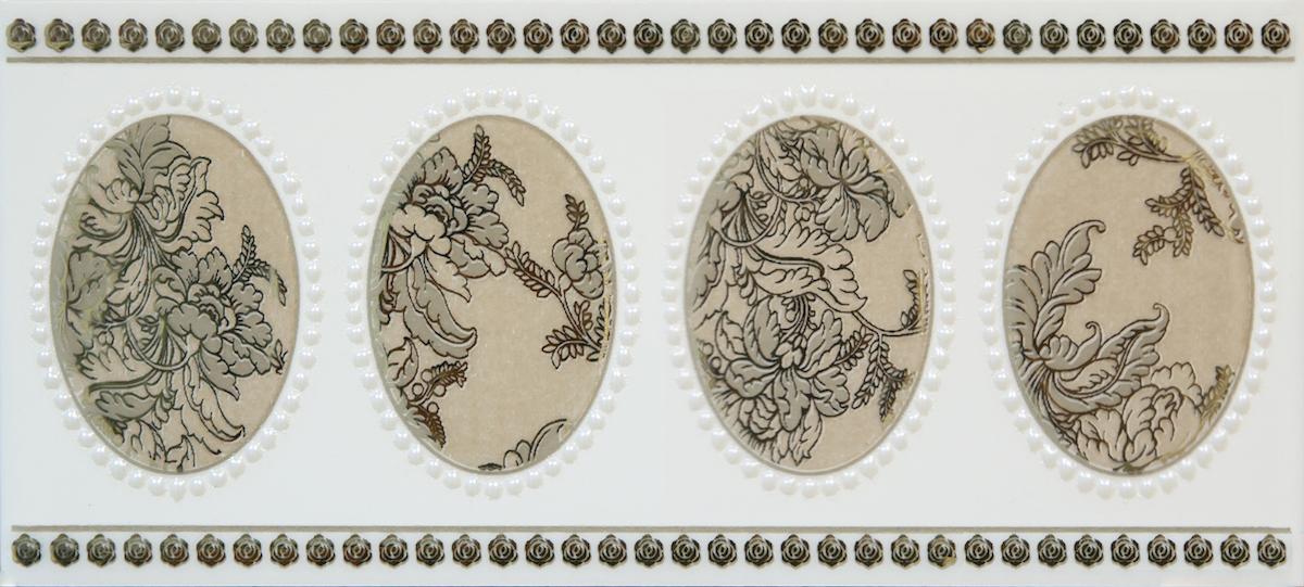 GlazurKer Keramický obklad GlazurKer Border Medal, 9x20 cm