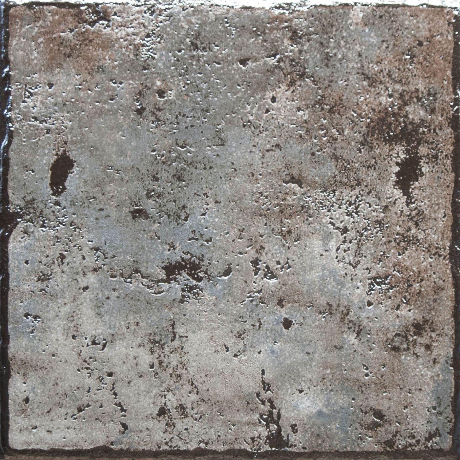 GlazurKer Keramický obklad GlazurKer Floor Base Silver, 30x30 cm