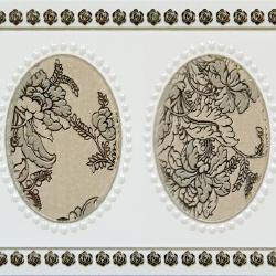 Keramický obklad GlazurKer Border Medal, 9x20 cm