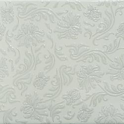 Keramický obklad GlazurKer Décor Flowers Light, 20x40 cm