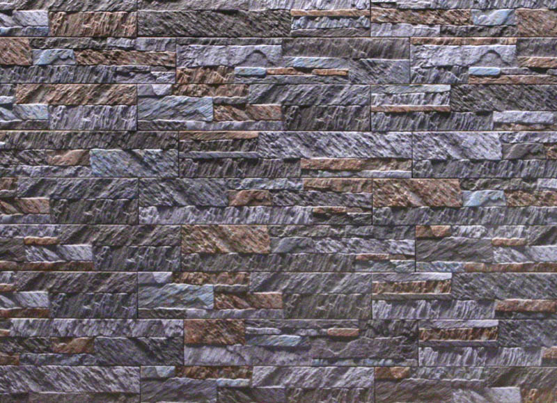 Magicrete Keramický obklad OLIMPIA GRAFITO 10x50 cm 10x50 cm