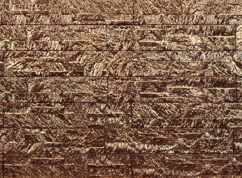Magicrete Keramický obklad TROYA NEGRO 10x50 cm 10x50 cm