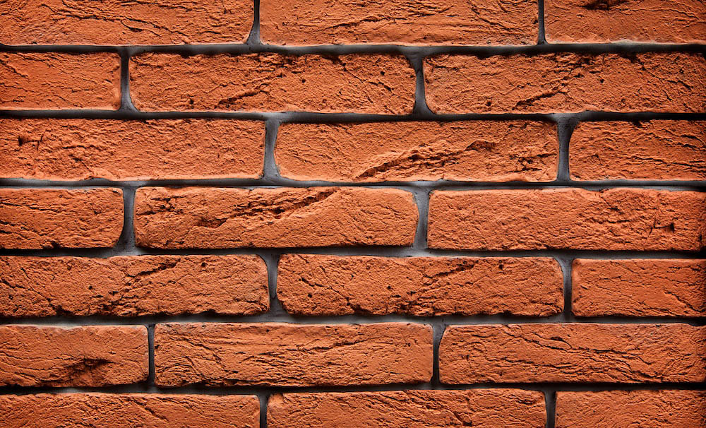 Magicrete Umělý kámen CIHLA oranžová 32 ks, 0.7 m2