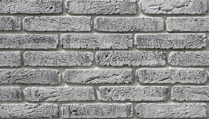 Magicrete Umělý kámen CIHLA světle šedá 210 x 60 – 65 mm 280-295 × 60-65 mm