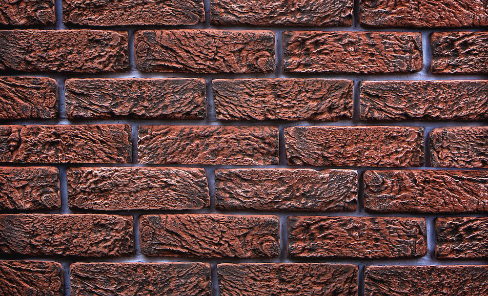 Magicrete Umělý kámen HAND BRICK červený 210 x 60 – 65 mm