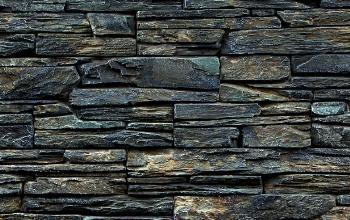 Štípaná břidlice - plošné obklady